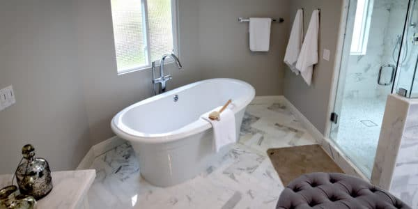 Laguna Beach, CA, Eclectic Bathroom Remodel