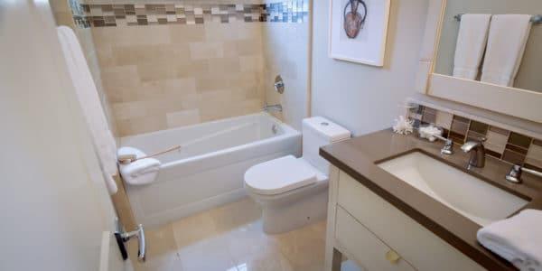Laguna Beach, CA, Eclectic Guest Bathroom Remodel