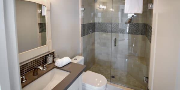 Laguna Beach, CA, Eclectic Second Bath Remodel