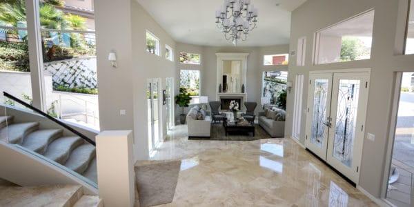 Laguna Beach, CA, Marble Floor Remodel (4)