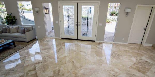 Laguna Beach, CA, Marble Floor Remodel (5)