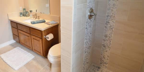 claremont eclectic bathroom remodel 2