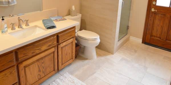claremont eclectic bathroom remodel 5
