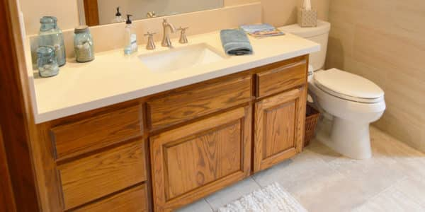 claremont eclectic bathroom remodel 6