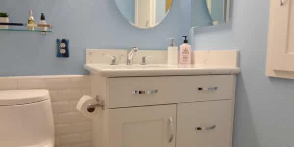 corona guest bathroom remodel 2