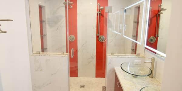 redlands master bathroom remodel 1