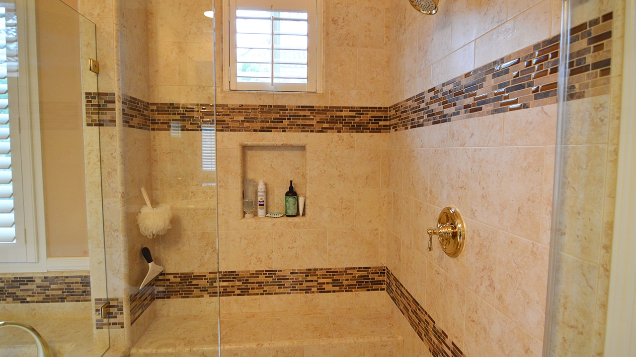 Traditional style jack and jill master bathroom remodel in - Jack and jill style bathroom ...
