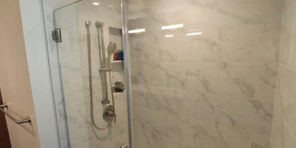 modern guest bathroom remodel glendora ca 1