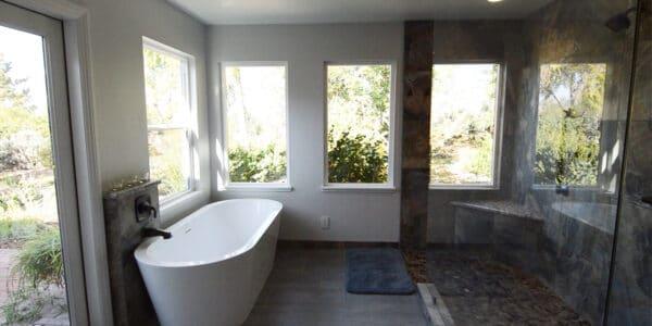 Eclectic Master Bathroom Remodel Redlands Ca_4