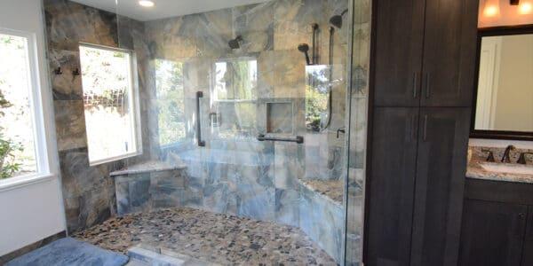 Eclectic Master Bathroom Remodel Redlands Ca_5