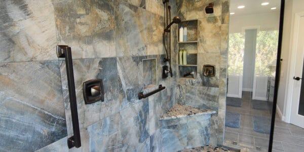 Eclectic Master Bathroom Remodel Redlands Ca_6